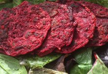 Recipe of the week with Hope Coke: 'Spooky Beetroot Socca'