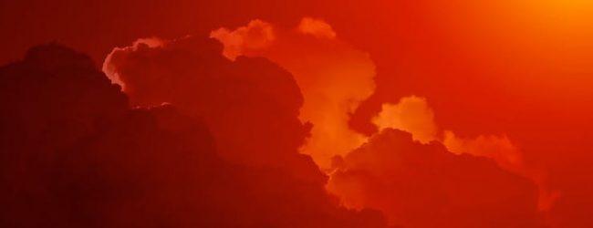 Hurricane Ophelia Causes Red Sky Phenomenon