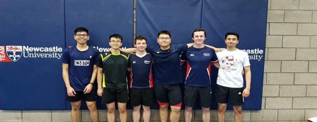Badminton victory is poetry in motion