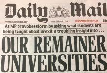 @The Daily Mail: Universities will Remain as they are