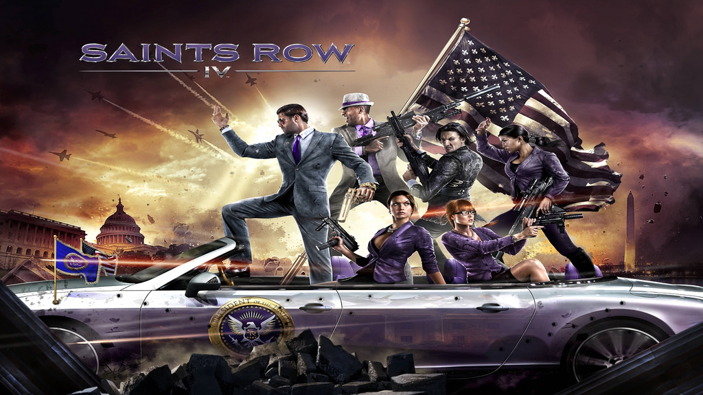 Saints Row 4; an exercise in irresponsible governance (also there was no way we'd be allowed to show the Penetrator itself) (Image: Flickr.com).
