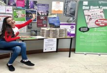 Award winning author visits Newcastle Uni