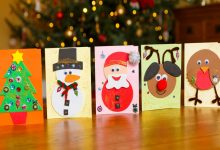 Christmas cards for care homes