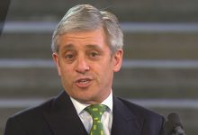 Bercow attracts biggest public lecture audience in 20 years