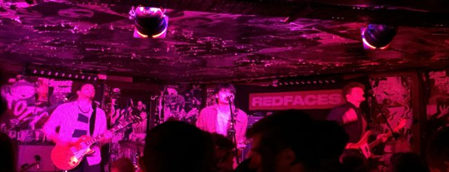 Gig Review: RedFaces at Think Tank