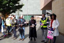 University make strike promises to students