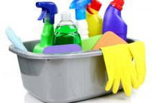 Taking Cleaning Products to the Cleaner's