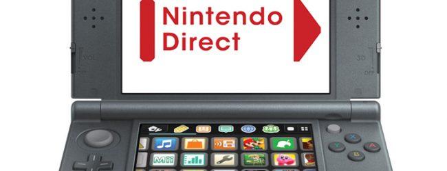 Nintendo Direct – 3DS News Roundup