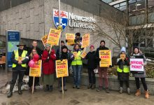 Discussions over pensions resume as strike continues to halt teaching