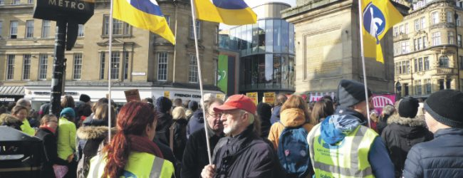 Lecturers lead Teach-Ins across Newcastle