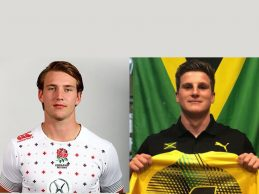 Newcastle players in Commonwealth Games rugby clash