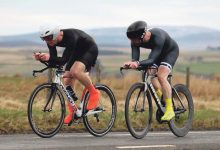 Triathletes in action across the North