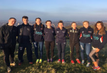 NUAXC conquer colossal Edinburgh climb