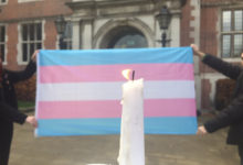 Newcastle students pay tribute to victims of transphobic hate crime
