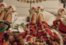 Debate of the season: comfy vs clad Christmas
